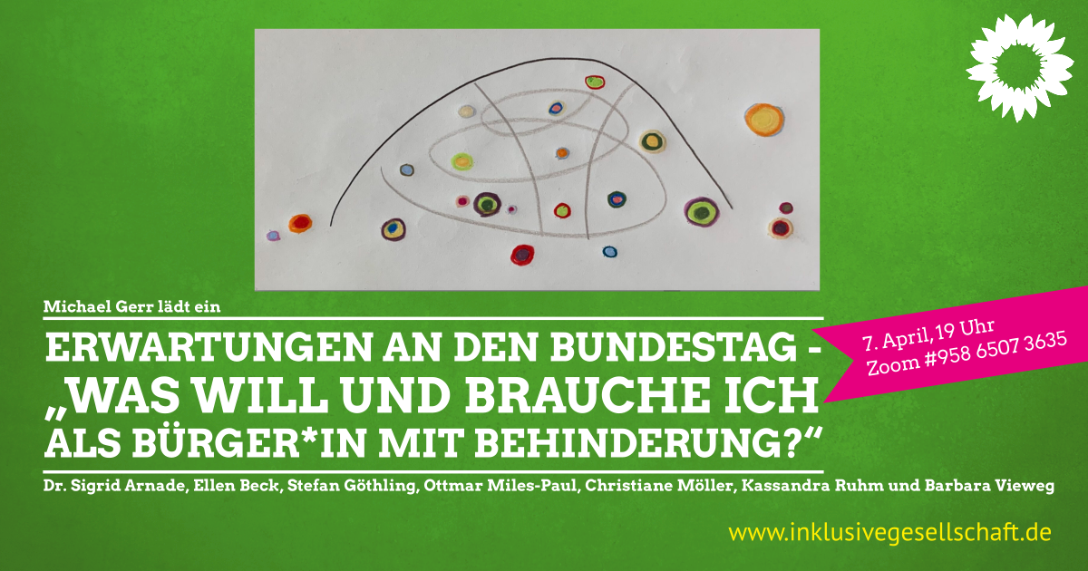 Sharepic: Erwartungen an den Bundestag
